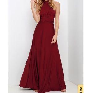 🌻 Lulus - Infinity Dress